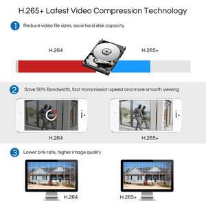 Image 4 - ZOSI CCTV מערכת 1080P מלא HD 8CH H.265 + DVR 6pcs 2.0MP כיפת אבטחת מצלמה 24pcs IR LED חיצוני בית מעקב מערכת