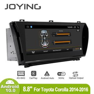 Image 3 - Joying 8.8inch Android10 Car Radio for Toyota Corolla 2014 2015 2016 GPS DSP Carplay 5G WIFI Optical Output Subwoofer SPDIF
