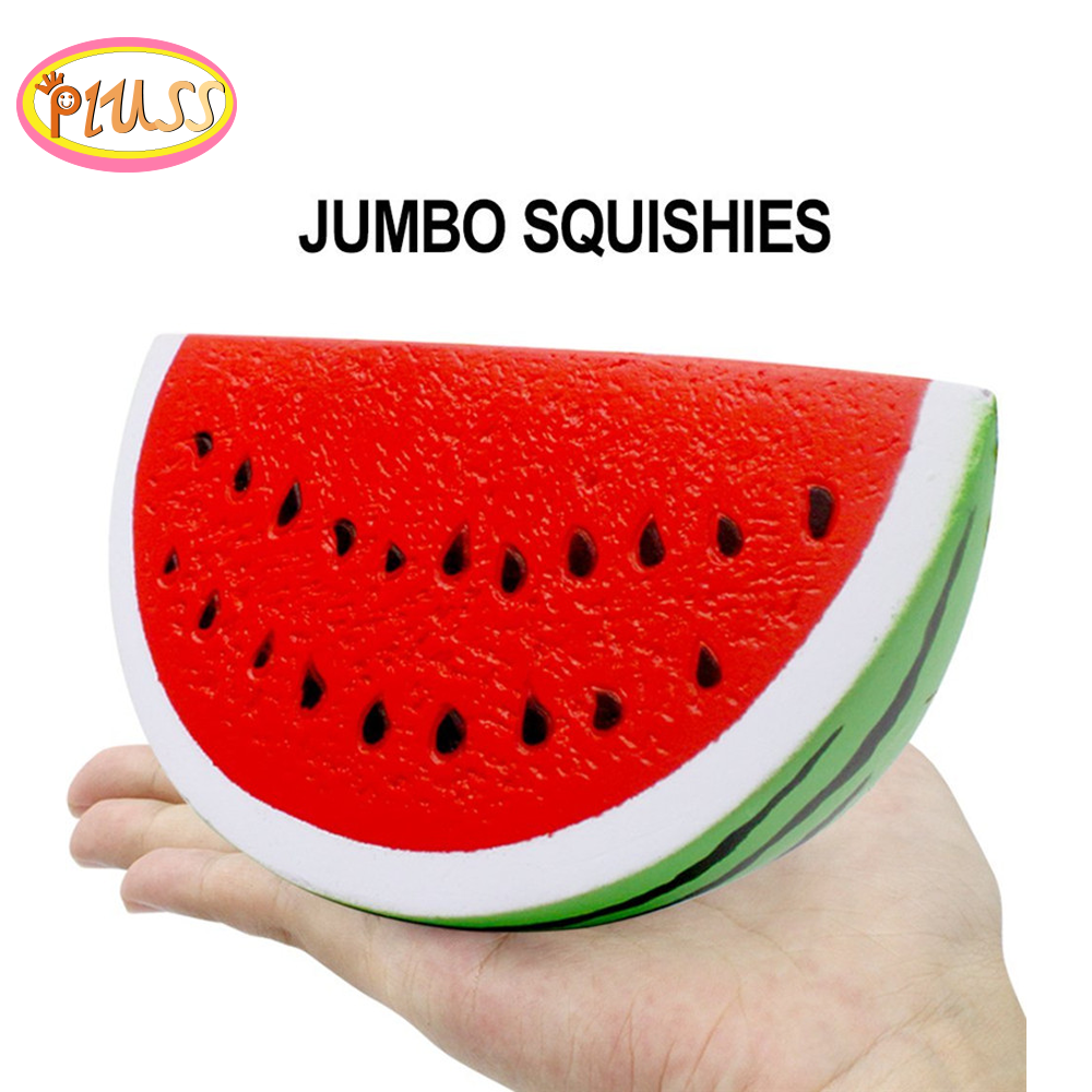 Squishy Kawaii Food Fruit Watermelon Squishy Slow Rising Jumbo Kawaii Squishies Kids Antistress Squeeze Toys Party  Decor Gift