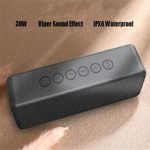 30W Powerful Bluetooth 5.0 Speaker Boombox Viper Effect Waterproof Megabass  Soundbar Music Center Bass Speakers Woofer Tws Aux
