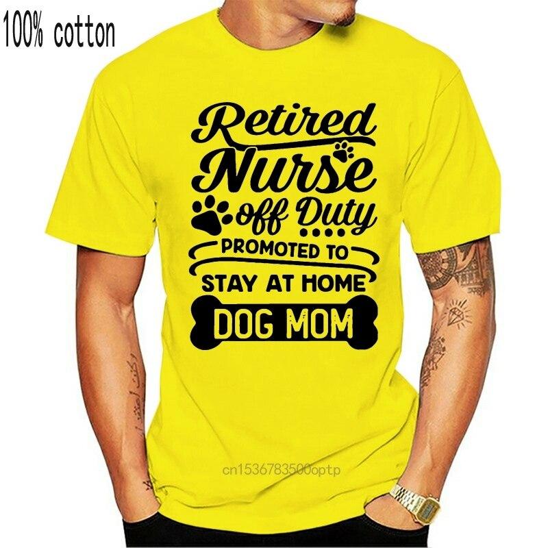 Пенсионер медсестры нерабочих часов повышен до сидеть дома собаки футболки для мамы