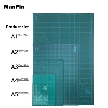 GKS A2 A3 A4 A5 PVC Cutting Mat White Core Cutting Pad Patchwork Tools Manual DIY Cutting Board Double-sided LCD Repair Tools