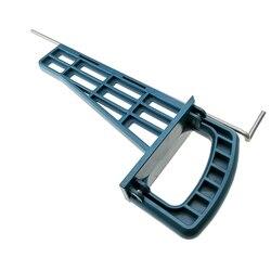 Do obróbki drewna profesjonalny przewodnik szuflady skorzystaj z uniwersalny magnetyczny narzędzie do montażu wielofunkcyjny do szafka meble slajdów Jig zestaw w Zestawy narzędzi ręcznych od Narzędzia na