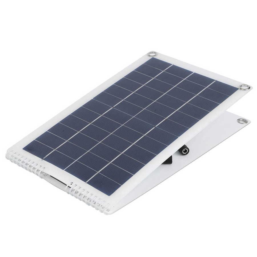livre acampamento rv dobrável painel solar
