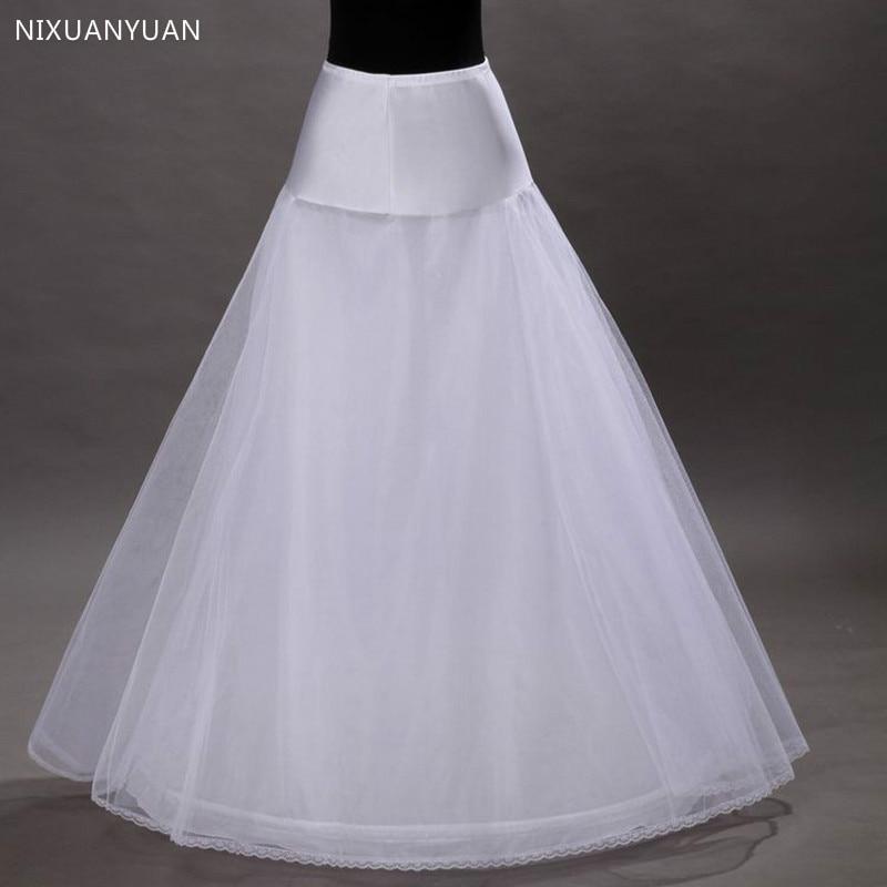 Adult High Quality A Line No Hoop Floor Length Bridal Wedding Dress Crinoline Petticoat Petticoat Wedding Accessories