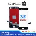 Сменный ЖК-дисплей с сенсорным экраном для iPhone SE2 SE 2020, дигитайзер в сборе, инструменты для дигитайзера, без кнопки возврата камеры SE2020