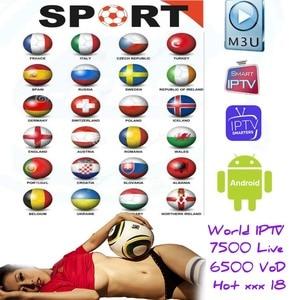 World Live IPTV 7500 + Live Fr