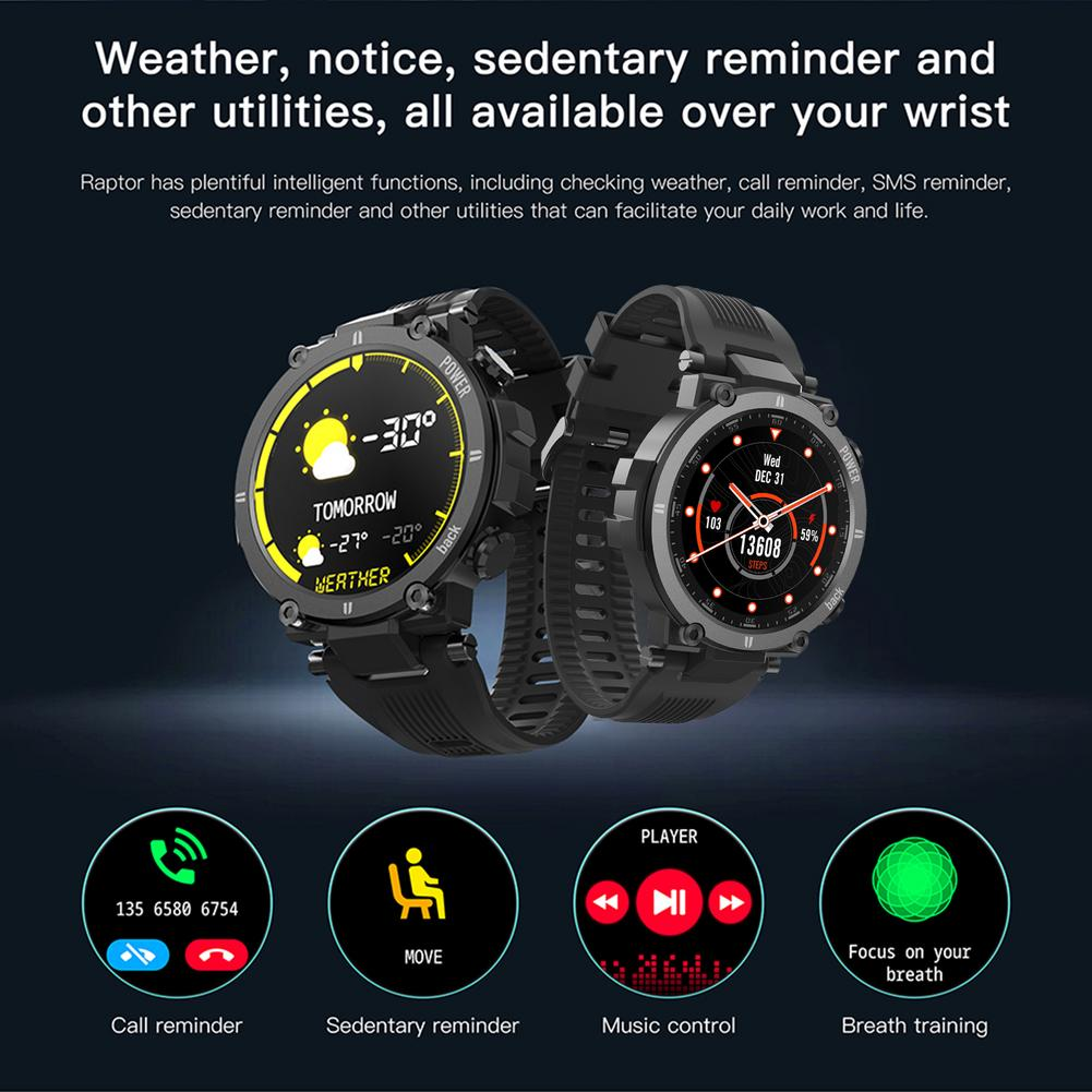 2021 NEW Smart Watch IP68waterproof Men Women Heart Rate Monitor Bluetooth Connect Smartwatch Fitness For KOSPET Raptor