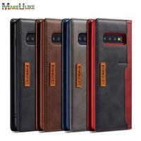Custodia a libro per Samsung Galaxy S21 S10 S20 S8 S9 Plus S10e S20 Ultra S21Plus S20Plus S10Plus custodia Leaher custodia magnetica per telefono