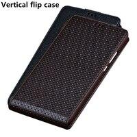 Business Genuine Leather Vertical Flip Phone Case For Samsung Galaxy J4 2018 Vertical Case For Samsung Galaxy J6 2018 Flip Case