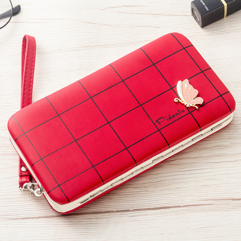 <font><b>Women</b></font> Clutch Wallet Leather <font><b>Case</b></font> for <font><b>Samsung</b></font> Galaxy S10 Plus S10e Note <font><b>10</b></font> <font><b>Case</b></font> Universal Cover for Huawei P30 Pro Lite Handbag image
