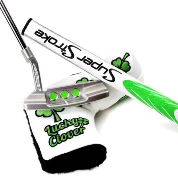 NEWPORT2 SERIES Lucky Leaf Putter Golf Clubs Newport2 Golf Putter33/34/35inch With Golf Steel Shaft Include Headcover And Wrench