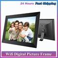 P100 WiFi 10,1-дюймовая цифровая рамка для фотографий 1280x800 IPS сенсорный экран 16 Гб умная рамка для фотографий управление приложением со съемным де...