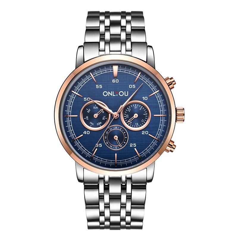Мужские наручные часы onlyou мужские спортивные s 2020 водонепроницаемые