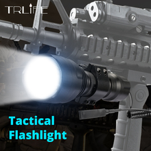 1 mode c8 led L2 Tactical flashlight cree XML T6 XM-L2 torch led Waterproof flash light mode 18650 Rechargeable battery ultrafire led flashlight xml t6 lantern tactical flashlight 5 mode waterproof torch 18650 battery