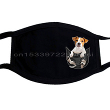 Jack Russell Inside Pocket mask Dog Loversmask Black Size  Men Women Unisex Fashion mask