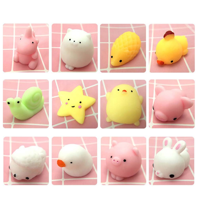 Squishy-Toys Relief-Squeeze-Toy Funny Gifts Anti-Stress Mini Kids Children Cute Slow Rising img5