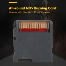 Adaptador de tarjeta de memoria para juegos R4, compatible con NDS, MD, GB, GBC, FC, PCE