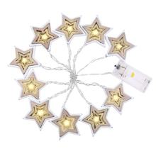 Pointed Star String Lights Durable High-quality Lights For KTV Bars Rooms Christmas Wedding Party Garden Holiday Lights