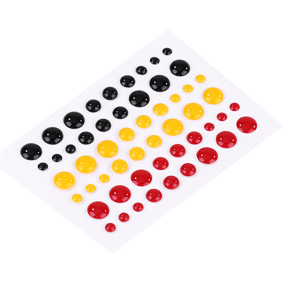 Pretty Mixed Color Sugar Sprinkles Self adhesive Enamel Dots Resin Sticker For DIY Scrapbooking Photo Album Cards Crafts Decor in Cutting Dies from Home Garden