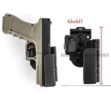 Glock 17 22 кобура для пистолета быстросъемные ремни поясная кобура аксессуары для страйкбола тактическое оборудование Оружейная сумка кобура