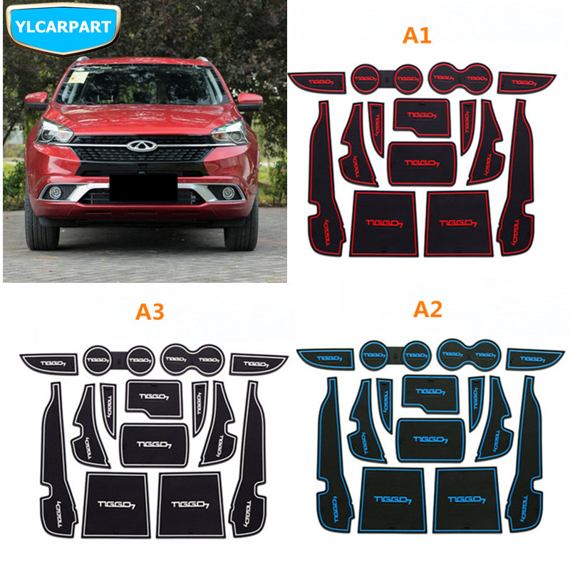 For Chery Tiggo 7,Tiggo7,Car Door Slot Mat