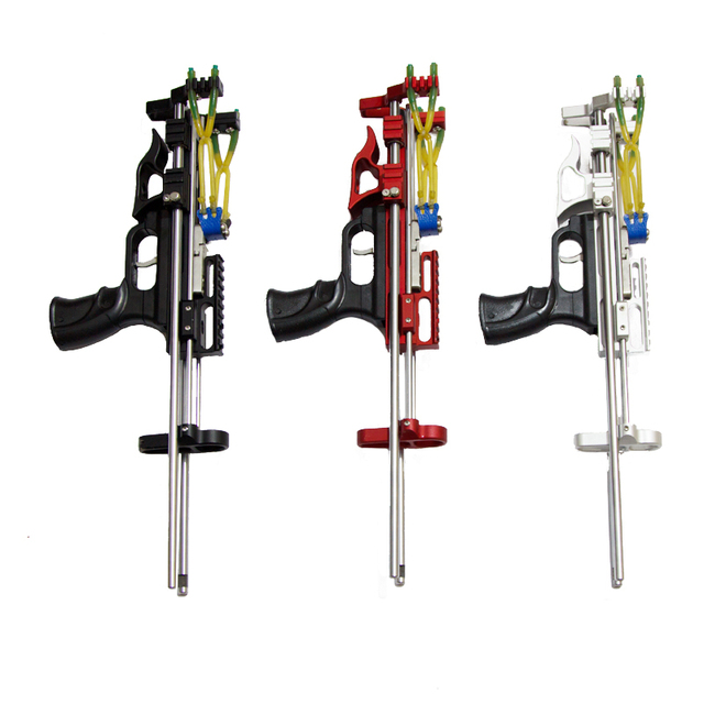 New Wolf King Slingshot Hunting Powerful Catapult Mechanical Slingshot Rifle Portable Stretch Outdoor Distance Shooting Toy 3