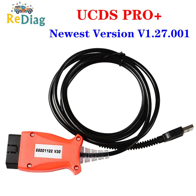 For FOCOM UCDS PRO+ Newest V1.27.001 With 35 Tokens Full License UCDS Pro UCDS For Ford Full Activate Free Shipping