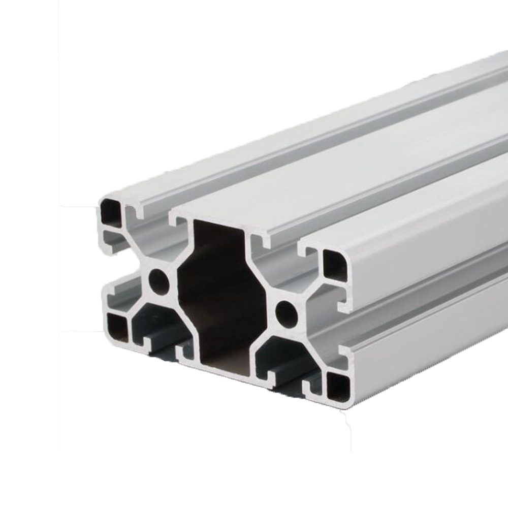 4080 алюминиевый профиль штранг-прессования Европейский стандарт анодированный линейный рельс алюминиевый профиль штранг-прессования 4080 дл...