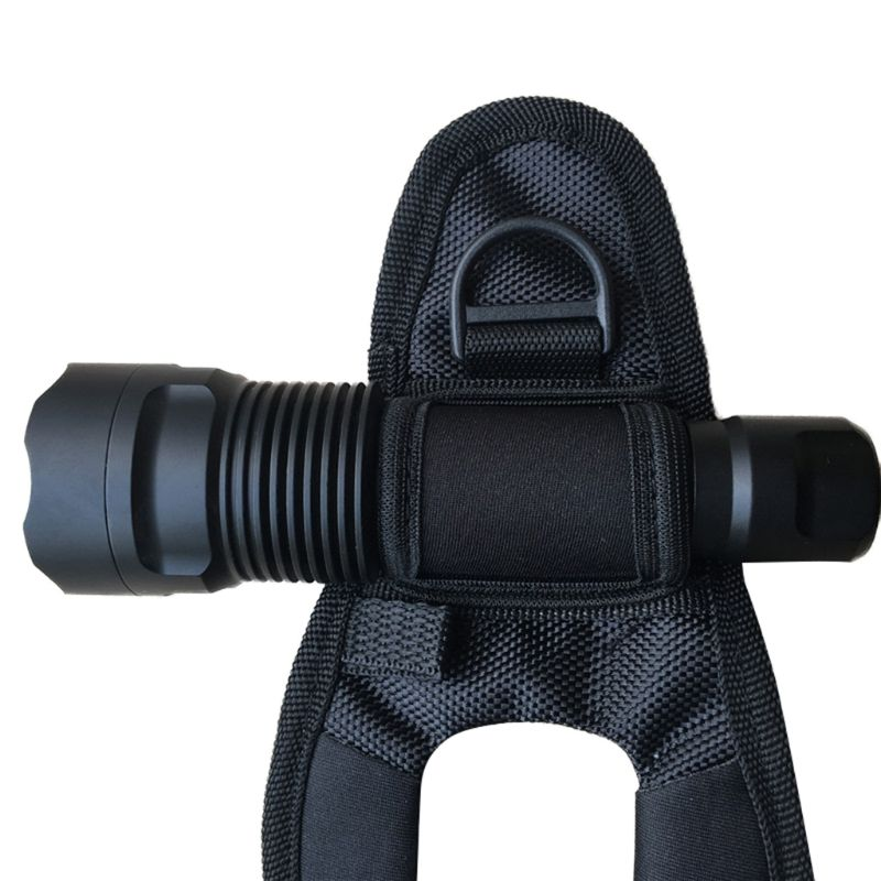 Diving LED Flashlight Torch Holder Arm Mount Wrist Strap Lighting Accessories High Quality And Brand New