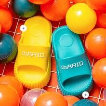 Летние шлепанцы для мальчиков и девочек детские пляжные сандалии