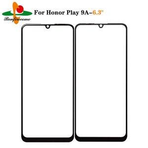 10 pçs \ lot tela sensível ao toque para huawei honor play 9a MED-AL20 MOA-AL20 frente tela de toque de vidro externo lente substituição