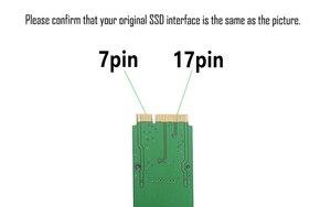 Image 3 - Nuovo SSD DA 256GB Per Il 2012 Macbook Air A1465 A1466 SOLID STATE DISK Md231 md232 md223 md224 hard disk SSD 256G
