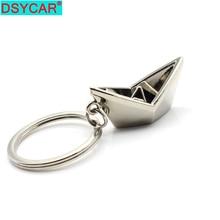DSYCAR  1Pcs Metal Key Chian Fashion Car Keyring Key Chain Keychain Key Rings Keyfob Creative Gifts Trinket for Unisex New