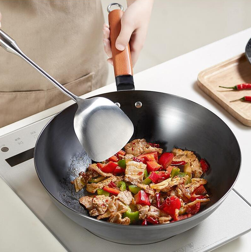 Traditional Handmade High Quality Chinese Non-Stick Iron Wok Pan