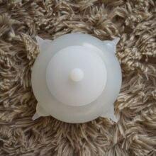 Bacia de leite da bolha do animal de estimação de dongdong pronto em estoque para filhotes/alimentador de leite dos gatos do bebê