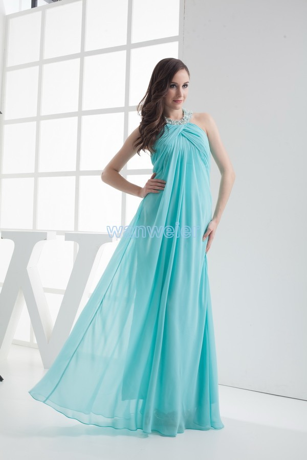 Free Shipping 2014 New Design Hot Sale Sexy Vestidos Formales Good Quality Custom Size Maxi Dresses Long Blue Bridesmaid Dresses