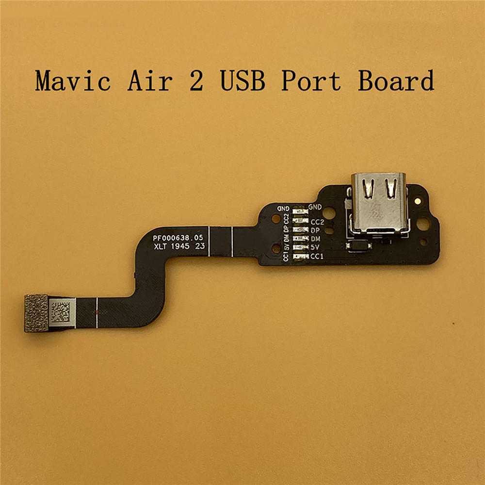Remote Control USB Port <font><b>Board</b></font> for <font><b>DJI</b></font> <font><b>Mavic</b></font> <font><b>Air</b></font> 2 Drone Repair Parts USB Interface <font><b>Board</b></font> Replacement for <font><b>Mavic</b></font> <font><b>Air</b></font> 2 Accessories image
