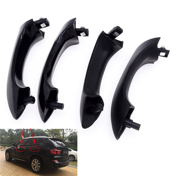 4pcs set black outside door handle front and rear exterior door handles for hyundai sonata 826513k000 LHD Outside Exterior Car Door Handles Front / Rear Left / Right For BMW X5 E53 E70 F15 51218243617 51218257737 51218243618