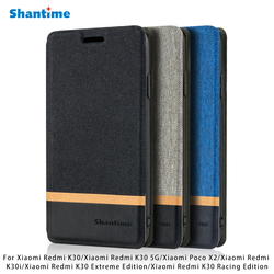 На Алиэкспресс купить чехол для смартфона leather phone case for xiaomi redmi k30 k30 5g k30i k30 extreme edition k30 racing edition case for xiaomi poco x2 case cover