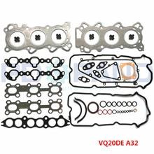 Vq20de motor conjunto completo de reconstrução kit gaxeta 10101 31ux6 para nissan maxima qx a32 a33 cetero saloon 2.0l v6 24 v