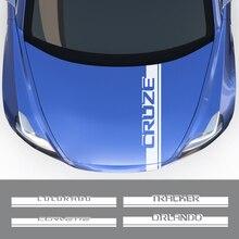 Автомобильная наклейка для Chevrolet Cruze Lacetti Bolt Corvette Trailblazer Traverse Tahoe Onix Cavalier Orlando Tracker, автомобильные аксессуары
