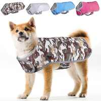 High Quality Pet Outdoor Jacket Waterproof Dogs Mountain Wear Hiking Snowboarding Jacket Autumn Winter Coat For Dog Dropship