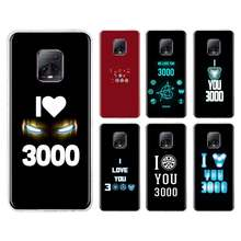 Marvel Iron Man I Love You 3000 TPUกรณีสำหรับXiaomi Redmiหมายเหตุ 8T 8 9S 9 7 10X K30 Pro ZOOM K30i 5G 6 K20 Funda Capa Coque(China)