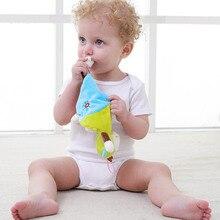 Детское Зубное кольцо, удобное полотенце, детское животное, комфортное полотенце, новорожденный грызунок для младенцев, жевательная игрушка, слюнявчик, полотенце
