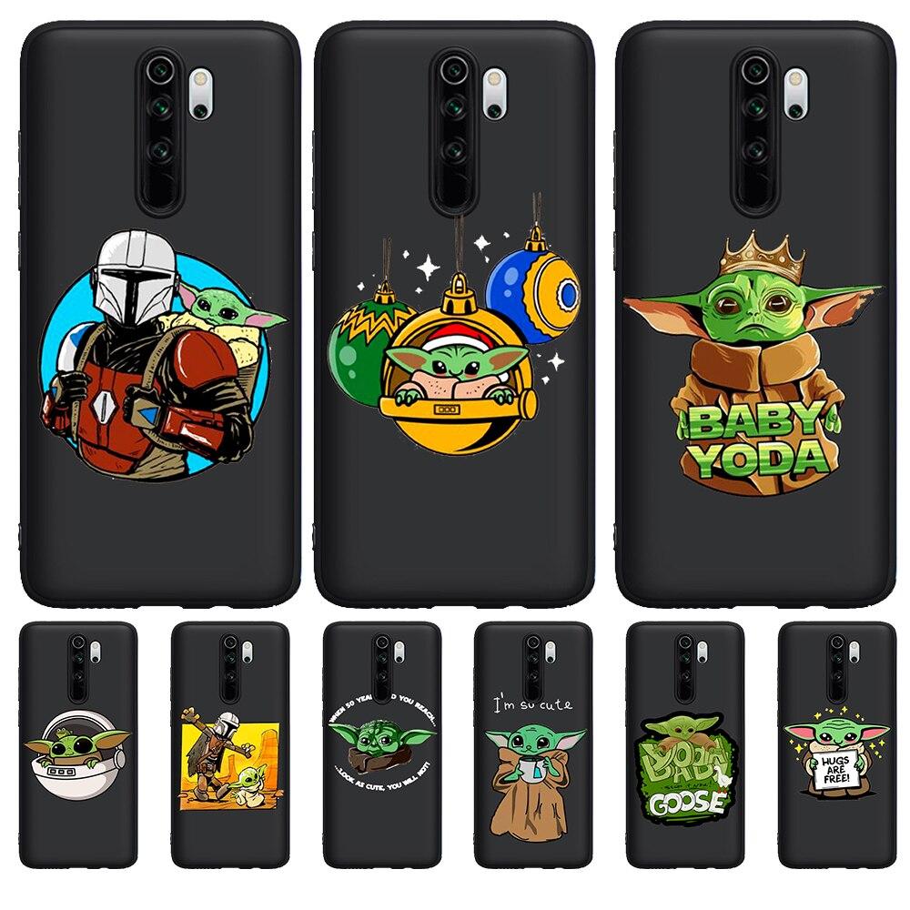 New Cartoon Baby Yoda Meme for Xiaomi Mi 9T Redmi Note 5 6 7 8 K20 9T Pro Phone Case Soft Silicone TPU Coque Funda Cover Etui