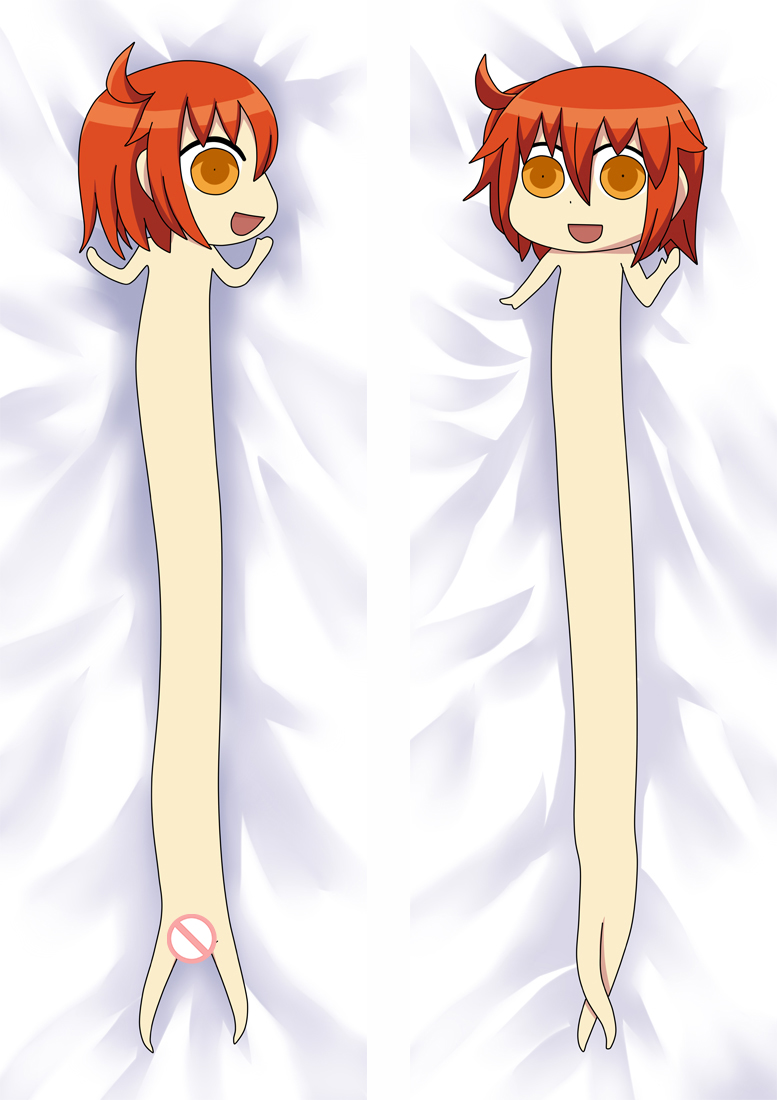 Anime Himouto! Umaru-chan Dakimakura Cover Nana Ebina Bolster Case Umaru Doma Long Hugging Body Pillowcase