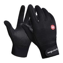 Водонепроницаемые флисовые мужские и женские лыжные перчатки ветрозащитные тепловые перчатки с сенсорным экраном для спорта на открытом воздухе, альпинизма на открытом воздухе, Мотоциклетные Перчатки