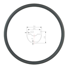 330g 26er mtb xc 30mm clincher tubeless aro de carbono 25mm profundo 24 28 32 furos ud 3 k 12 k fosco brilhante mountain bike disco roda