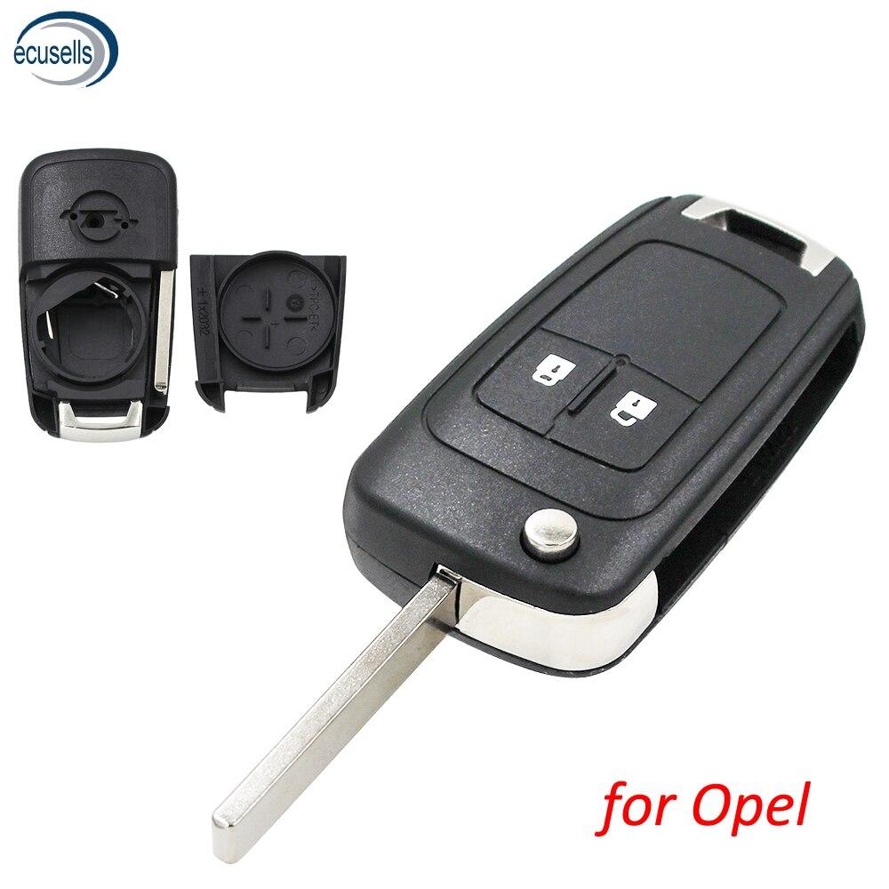 Распродажа высокого качества! Чехол для дистанционного ключа с 2 кнопками для Opel Astra J Zafira B Insignia Adam Astra J каскад Карл Зафира C HU100
